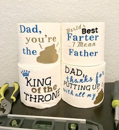 Christmas Gift for Dad, christmas Gag Gift, Father's Day Gag Gift, First Father's Day, Gifts for Dad Source by etsy Homemade Fathers Day Gifts, Diy Gifts For Dad, First Fathers Day Gifts, Diy Father's Day Gifts, Fathers Day Presents, Father's Day Diy, Fathers Day Crafts, Funny Gifts For Dad, Dad Gifts