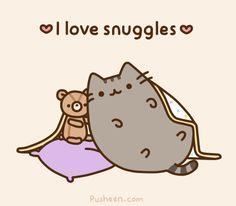 i love snuggles <3