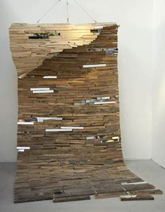 Lee Borthwick: Mirror installations and sculptural works in wood