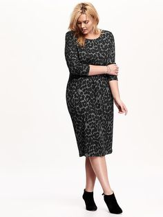 628ae844a14 15 Cozy And Chic Plus Size Sweater Dresses To Wear Now. Plus Size Sweater  DressSweater DressesPlus FashionCurvy Girl ...