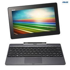 Asus Transformer T100TA Intel Atom 60GB SSD 10.1' 2-in-1 Tablet Notebook with Keyboard Dock - Refurbished at 70% Savings off Retail!