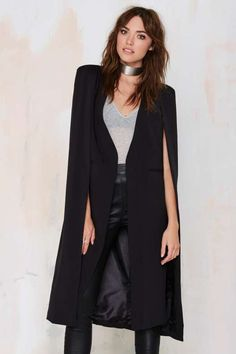 On the Fly Cape Jacket