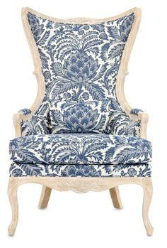 Astor Custom Upholstered Chair | Currey and Company