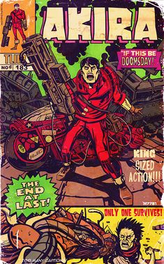 AKIRA Reimagined in the Style of Jack Kirby and Stan Lee — GeekTyrant