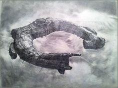 PROMETHEUS. Vaisseau alien. #prometheus #alien #scott #ridleyscott #vaisseau #noomirapace #michaelfassbender