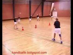 Handball shooting exercises - YouTube
