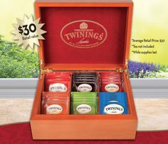 Mother's Day is coming! Get aFREE tea chest for Mom with Online Orders over $75!