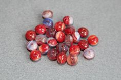 Multi Faceted Translucent Czech Glass Beads by BohemianSupplyCo