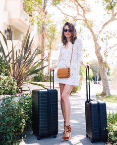 Away Medium and Carry-On | Louise Roe in Santa Ynez, CA