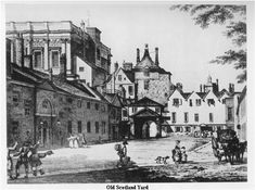Old Scotland | Click to enlarge this lovely picture of old Scotland Yard - the ...