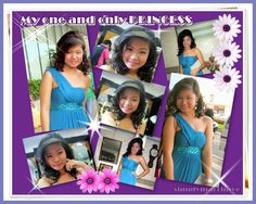 My one and only princess' photographs during their Senior Prom at SMX Convention Center.