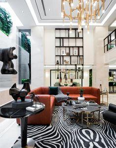 Interior Design/Shanghai Boyue Riverside/Example room/The basement room/Post Modern/Art Deco