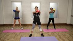 Abs, Arms, and Legs: This Kettlebell Workout Targets It All: If you only have 20 minutes to exercise, then we highly suggest that this is the workout you choose. - Fitness Little Fitness Workouts, Yoga Fitness, At Home Workouts, Fitness Tips, Fitness Motivation, Physical Fitness, Video Sport, Kettlebell Training, Kettlebell Challenge