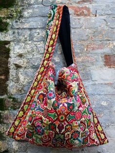 Textile bag. Just lovely.