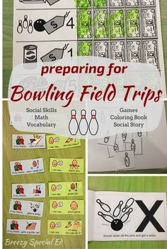 How I prepared my special education students for our community field trip to the bowling alley