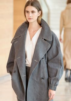 Christophe Lemaire -  DENIM TRENCH