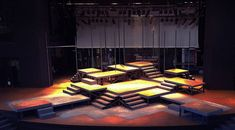 godspell | The Godspell set two weeks before opening