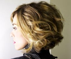 Hottest Short Wavy Hairstyles 2015