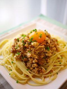 納豆と鶏ひき肉のパスタ by J吉さん | レシピブログ - 料理ブログの ...