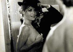 "Romy Schneider took in picture by Michel Piccoli in ""Max et les ferrailleurs"""