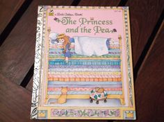 Little Golden Book The Princess and the Pea by CollectingDaffodils