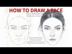 In this video I tried to show the easiest way to draw a face/face proportions that I figured out for myself. I hope this method will be helpful for you as we. Cool Art Drawings, Pencil Art Drawings, Art Drawings Sketches, Drawing Skills, Drawing Lessons, Drawing Tips, Drowning Art, Face Proportions, Nose Drawing
