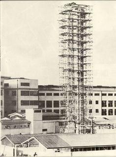 Tauranga Hospital 1964 construction