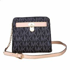 #CelebrateWith #MichaelKors Dancing With The Fashion And Luxury Michael Kors Hamilton Lock Medium Black Crossbody Bags Today!