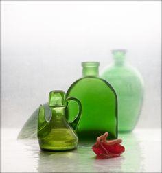 #Зелёный #Красный #Натюрморт #Стекло Author: Eleonora Grigorjeva
