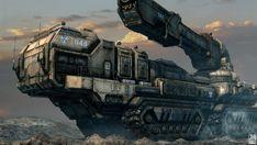 Present: Cannons in Art: Mandalorian Heavy Artillery  (schwartzpedro, 2009 - 2012)