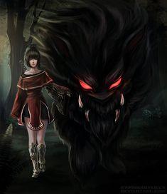 Black Desert Online - Tamer/Beast Master by kapiheartlilly