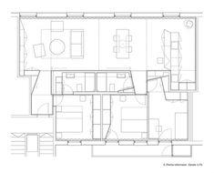 Apartment Refurbishment in Pamplona,plan