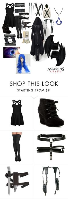 """assassin outfit (eyeless)"" by eyeless-angel-of-death ❤ liked on Polyvore featuring Via Spiga, Commando and Dickies"
