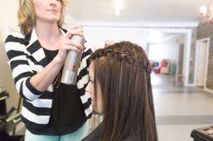 waterfall braid DIY / Flamboyage Treatment / Arrow & Lace Designs