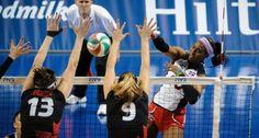 Las Reinas del Caribe vencieron a Canadá y disputarán el oro del Clasificatorio