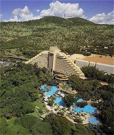 The Cascades Hotel, Sun City, Pilanesberg, North West Province Beaches In The World, Places Around The World, Around The Worlds, African Countries, Countries Of The World, Sun City Resort, North West Province, African Holidays, Provinces Of South Africa