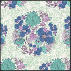 1 Yard Serenade Daylight from the Art by SistersandQuilters, $9.75