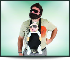 Coolest #Halloween costumes for men: Alan, The Hangover
