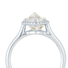 Each setting handcrafted, specially for the rough diamond.