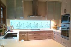 Frost & Co Window Film kitchen glass splash back