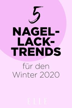 Nagellack in sattem Lila, Nail Art mit Sternchen und softe French Nails in Nudetönen: Das sind die 5 Trends für die Maniküre im Winter 2020! #nagellack nägel maniküre #nageltrends Nagellack Trends, 1960s Fashion, French Nails, Beauty Trends, Lilac, New Nail Trends, Hair Removal, Knowledge, French Tips