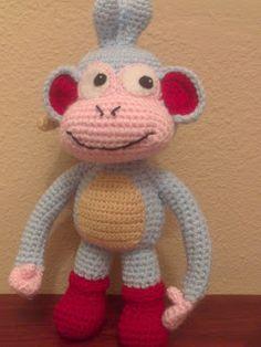 Amigurumi Monkey Patron Gratis : 1000+ images about Amigurumi monkeys on Pinterest Monkey ...