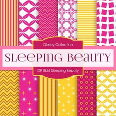Sleeping Beauty Digital Paper DP1856