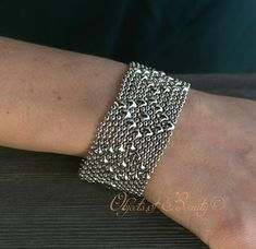 Anastacia SG Liquid Metal Bracelet Cuff