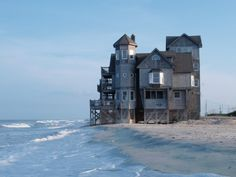 "From the movie (1st a Nicholas Sparks book) ""The Road to Rondanthe"". Coolest/weirdest beach house ever!"