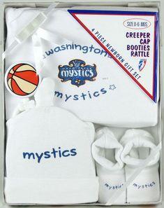 146d879ef0a WNBA Washington Mystics Newborn Gift Set (0-6 months)  Baby Product .  Fanletic