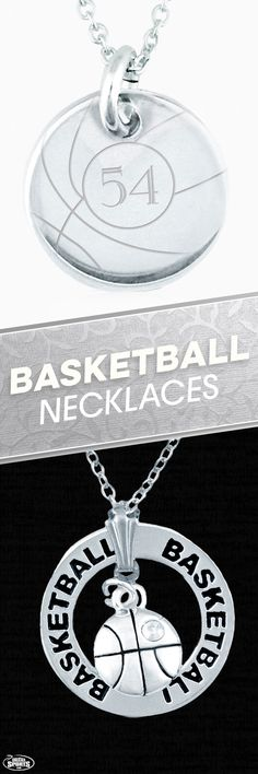 Some basketball necklaces can be personalized while others are great the way they are. View more necklaces on our website.