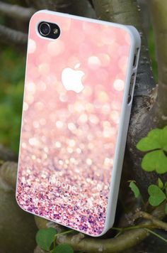 pink glitter iphone 5/5s case iphone 4/4s case and by Doamamah, $14.34