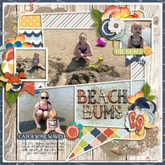 Beach Bums | Beach Bum - River Rose Designs http://www.sweetshoppedesigns.com/sweetshoppe/product.php?productid=39453&cat=1014&page=1  | Single 168 - Summer Sensations 9 - Cindy Schneider | #scrapbook #digiscrapping #sweetshoppedesigns #riverrose #cindyschneider
