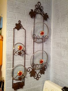 Re-purposed plate hanger. & Plate Hangers - Curly Cue Vertical Holders | For the Home ...